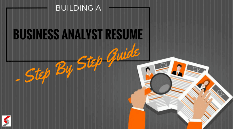 Building a Business Analyst Resume